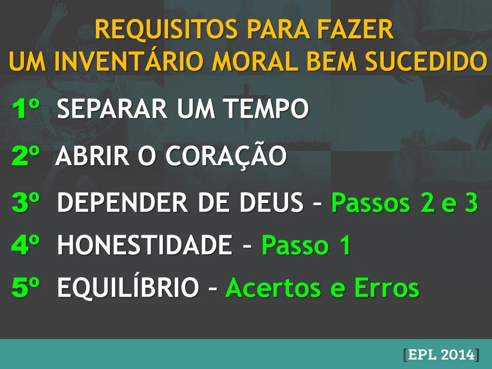 UM INVENTÁRIO MORAL BEM SUCEDIDO