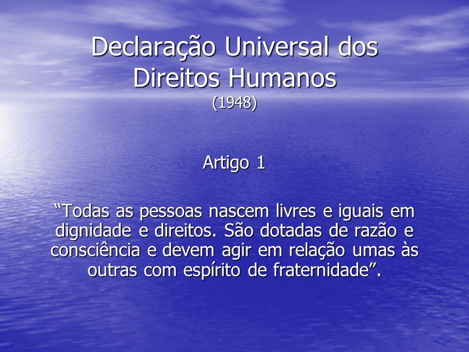 Declaração Universal dos Direitos Humanos (1948)