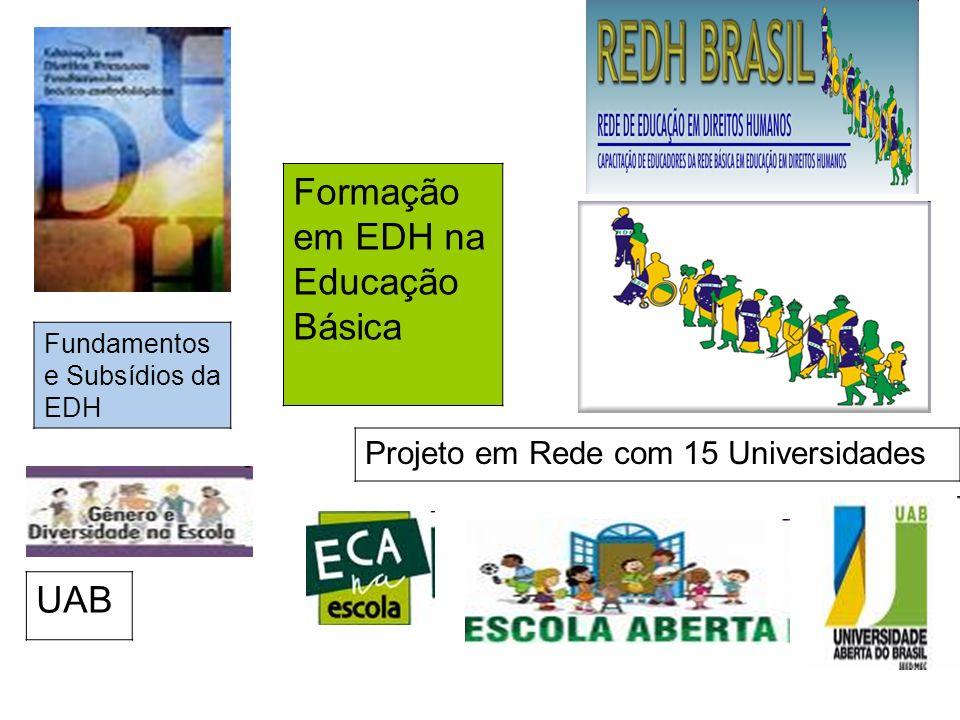Formação em EDH na Educação Básica
