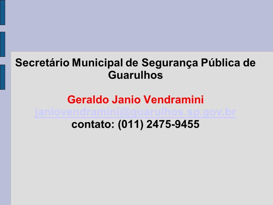 Secretário Municipal de Segurança Pública de Guarulhos