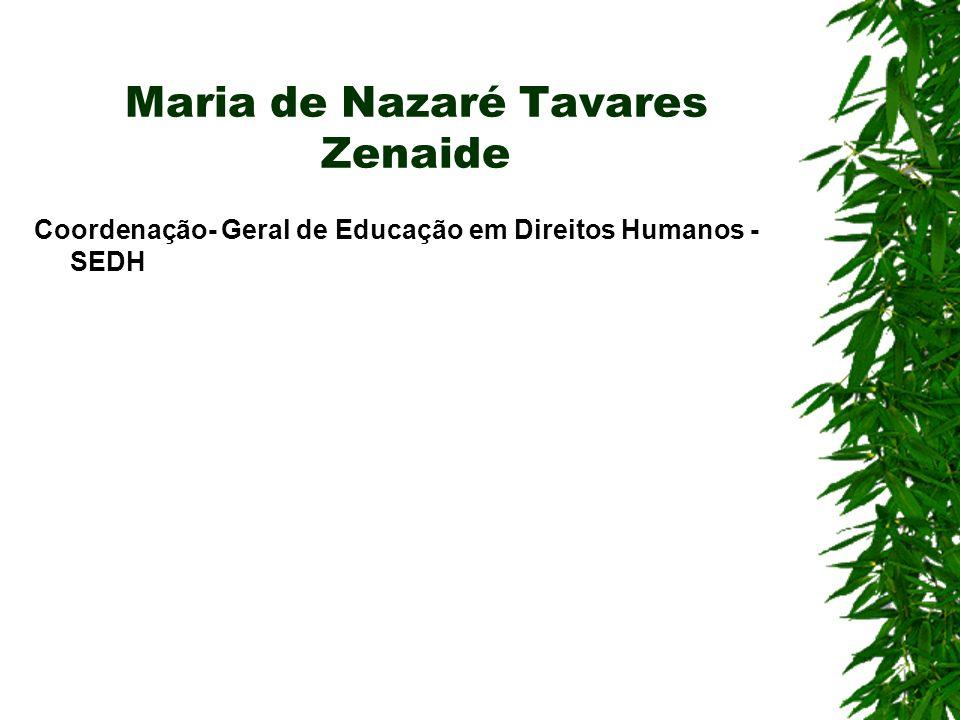 Maria de Nazaré Tavares Zenaide