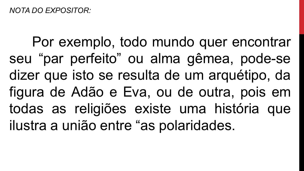 NOTA DO EXPOSITOR: