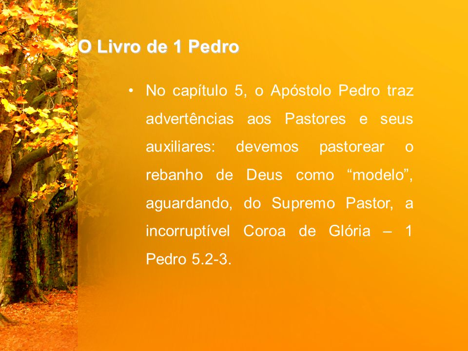O Livro de 1 Pedro