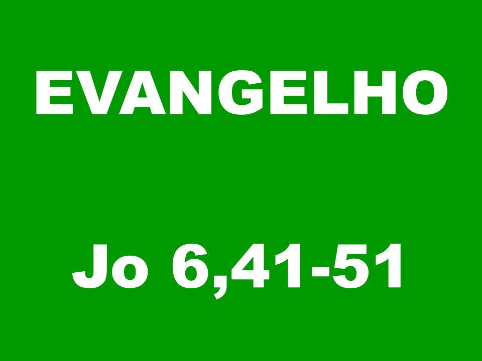 EVANGELHO Jo 6,41-51