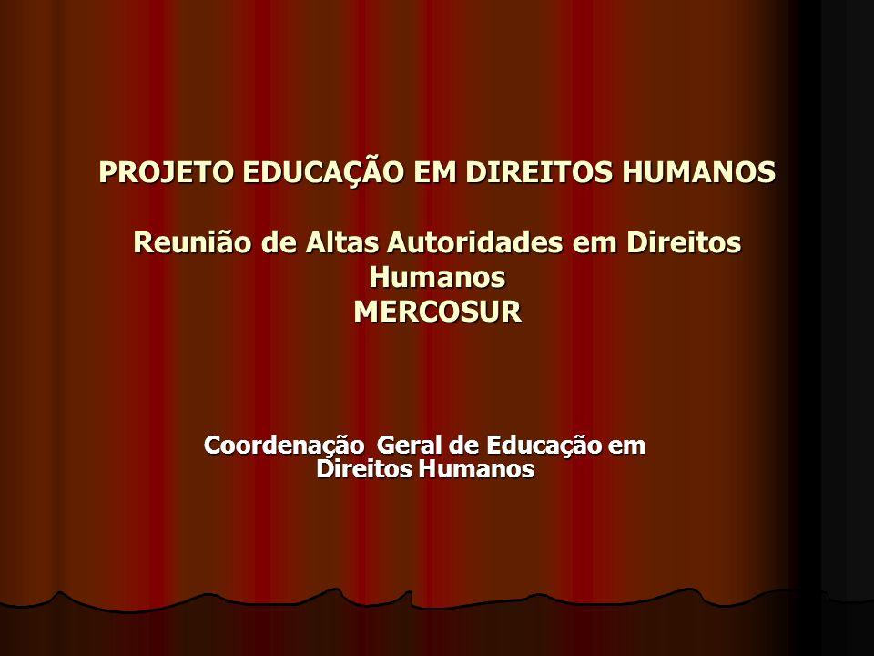 Coordenação Geral de Educação em Direitos Humanos