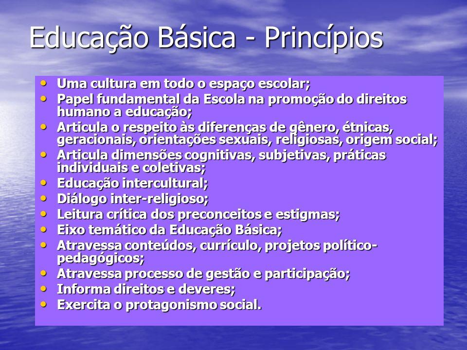 Educação Básica - Princípios