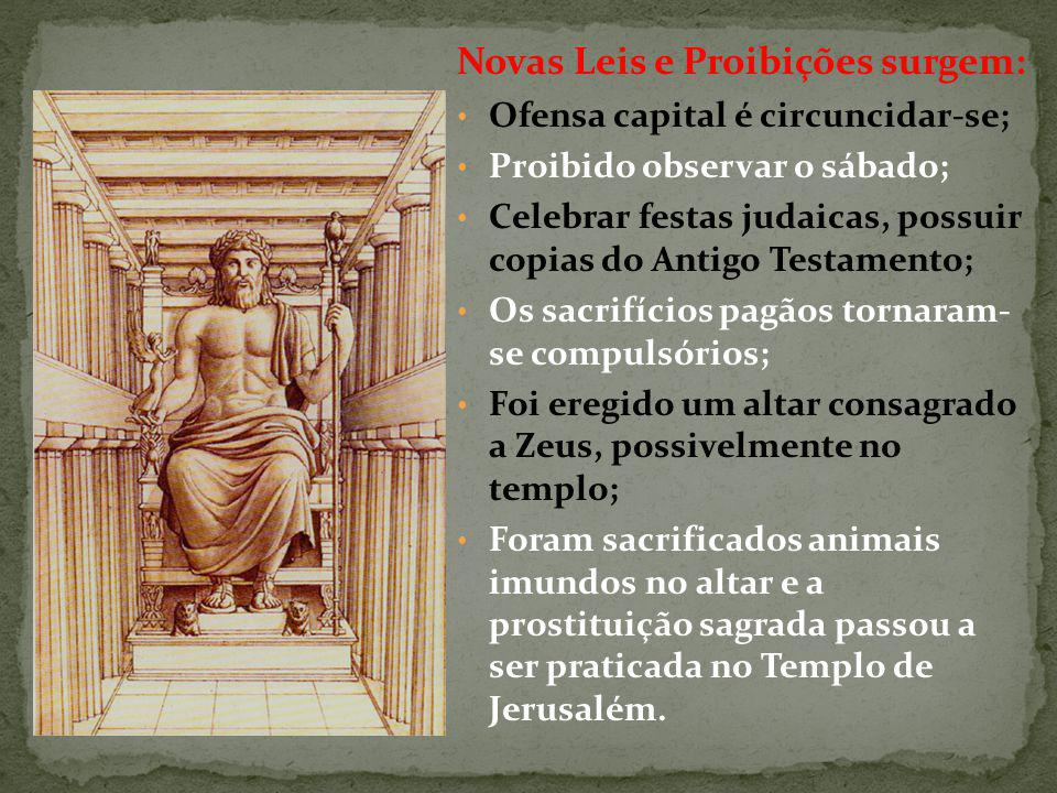 Novas Leis e Proibições surgem:
