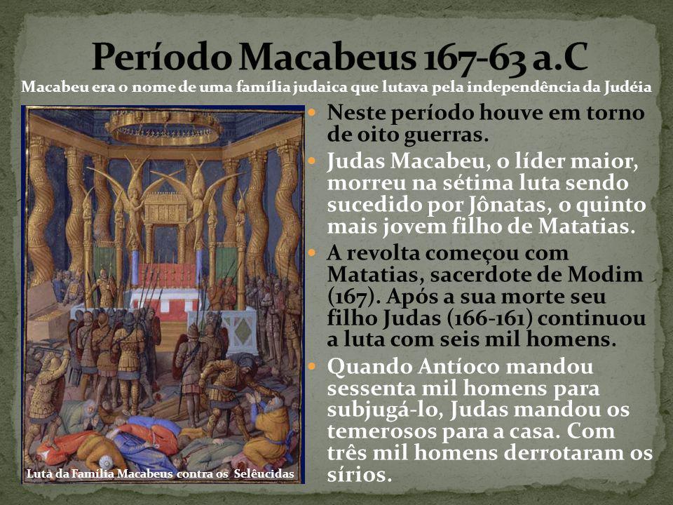 Luta da Família Macabeus contra os Selêucidas