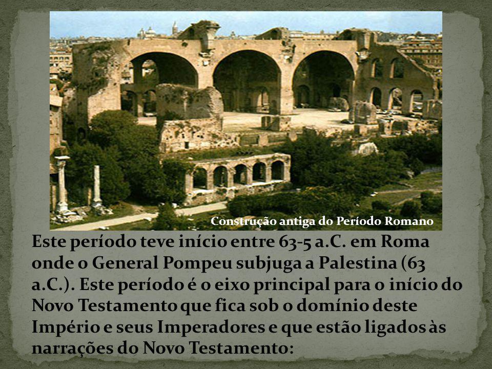 Construção antiga do Período Romano