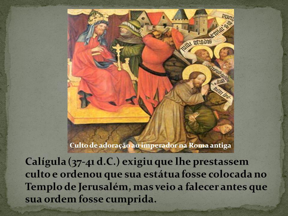 Culto de adoração ao imperador na Roma antiga