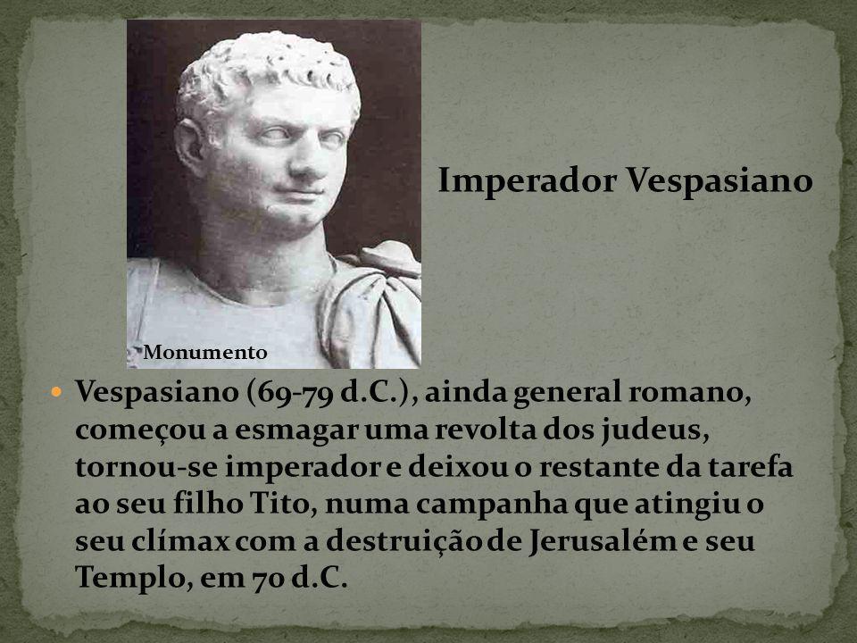 Imperador Vespasiano Monumento.
