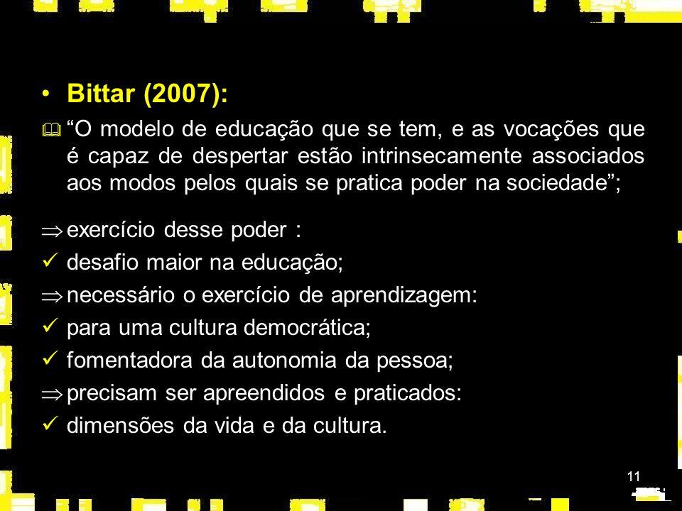 Bittar (2007):