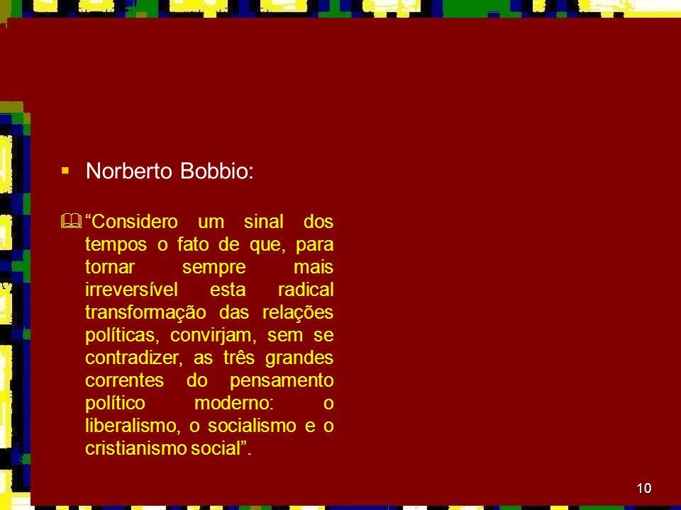 Norberto Bobbio:
