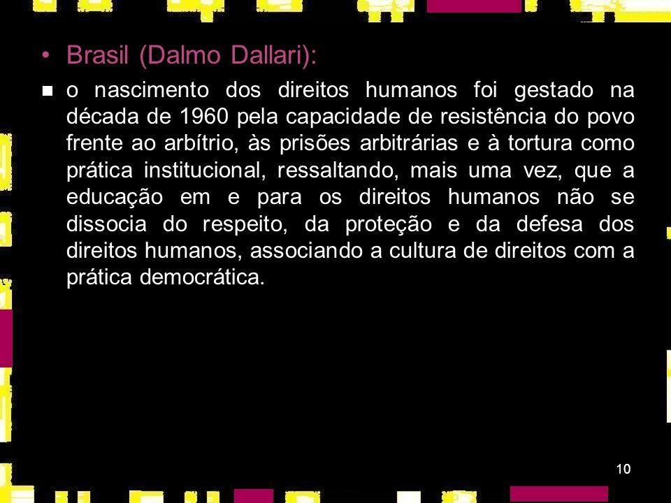 Brasil (Dalmo Dallari):
