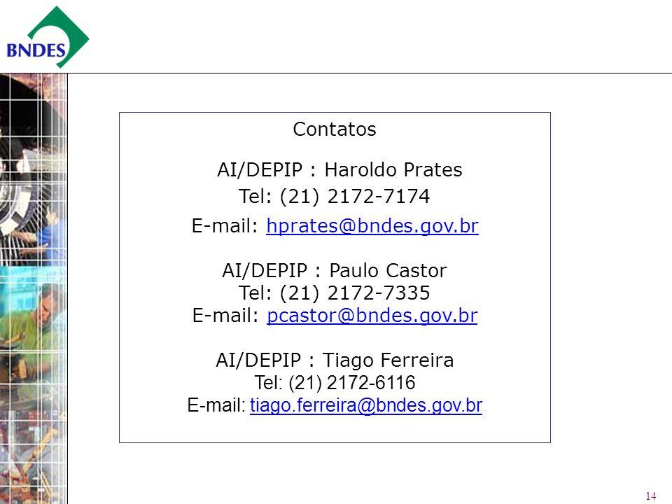 AI/DEPIP : Haroldo Prates