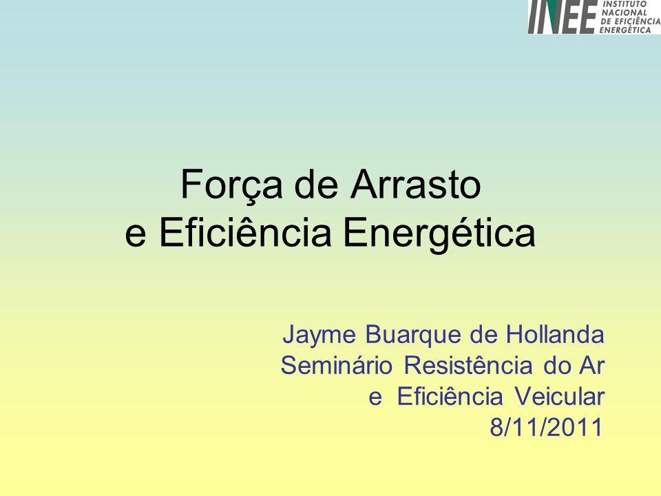 Força de Arrasto e Eficiência Energética