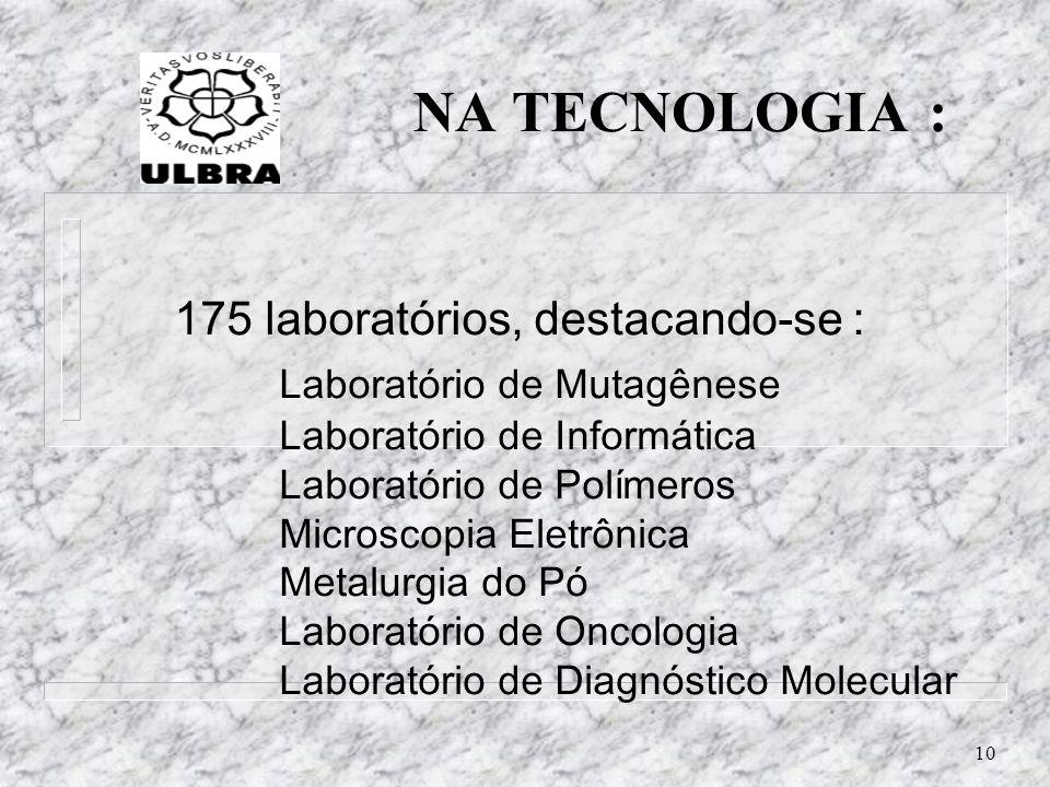 NA TECNOLOGIA :