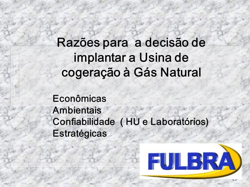 Econômicas Ambientais Confiabilidade ( HU e Laboratórios) Estratégicas