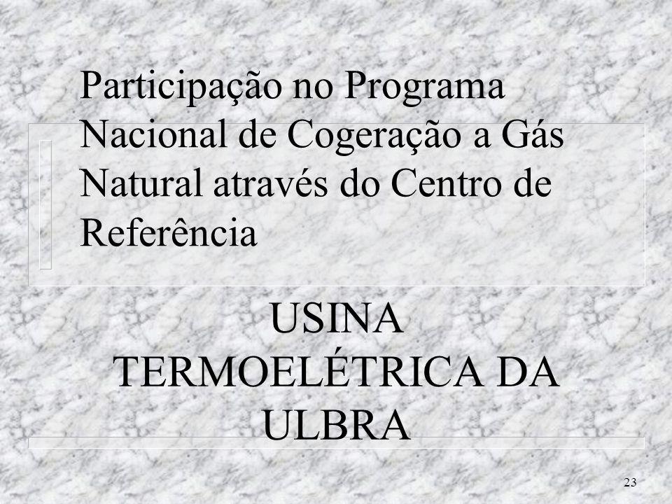 USINA TERMOELÉTRICA DA ULBRA