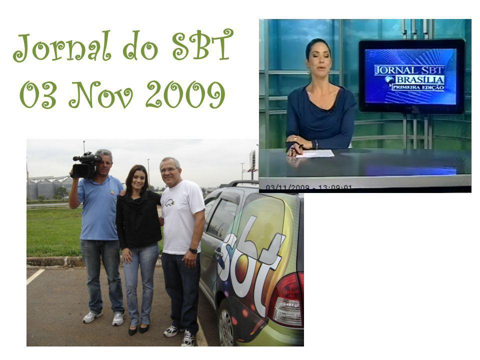 Jornal do SBT 03 Nov 2009