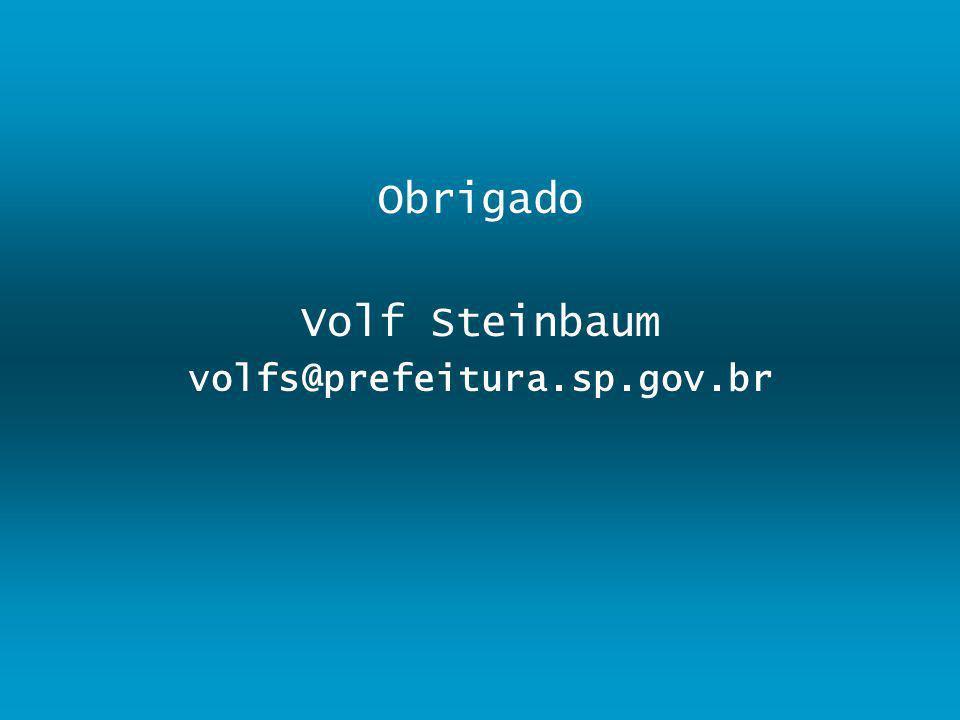 Obrigado Volf Steinbaum volfs@prefeitura.sp.gov.br