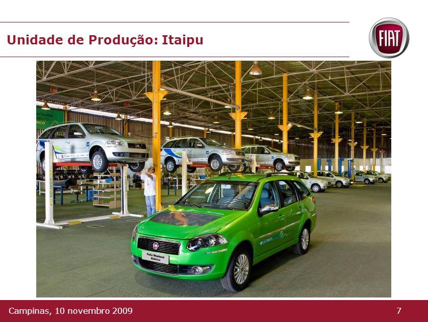 Unidade de Produção: Itaipu