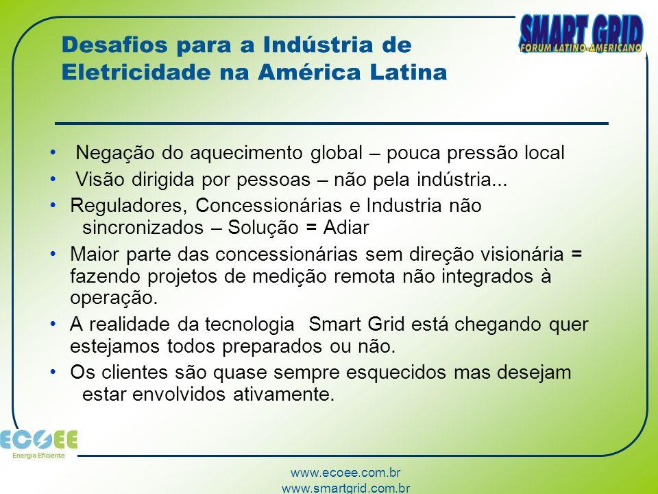 Desafios para a Indústria de Eletricidade na América Latina