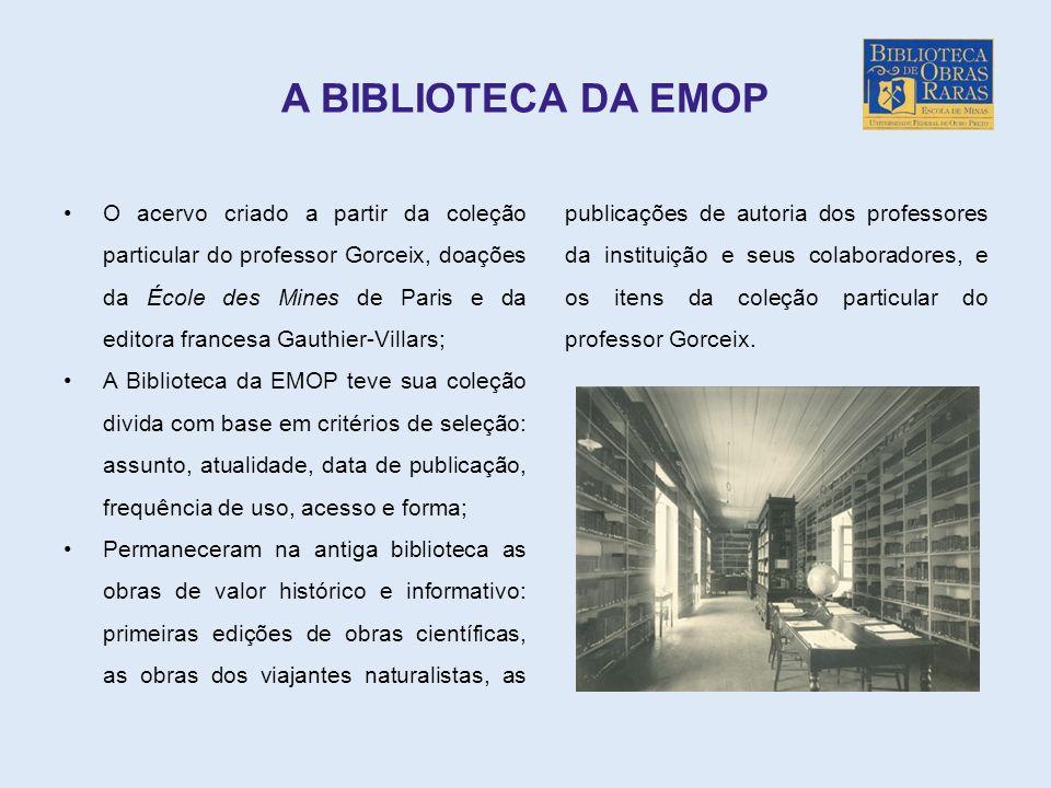 A BIBLIOTECA DA EMOP
