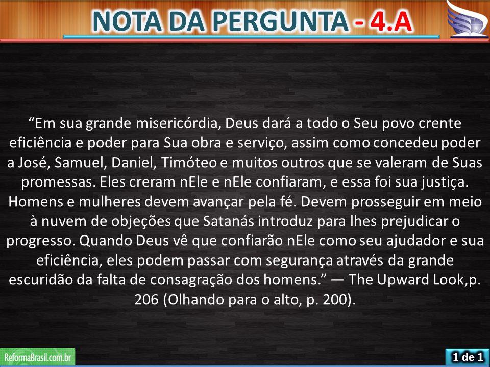 NOTA DA PERGUNTA - 4.A