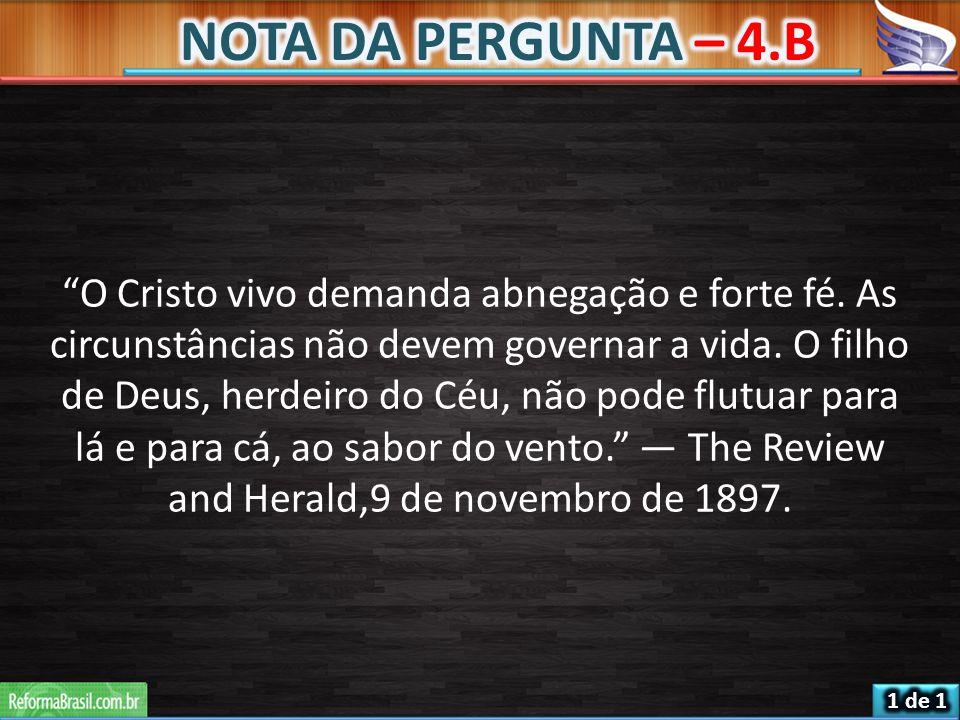NOTA DA PERGUNTA – 4.B