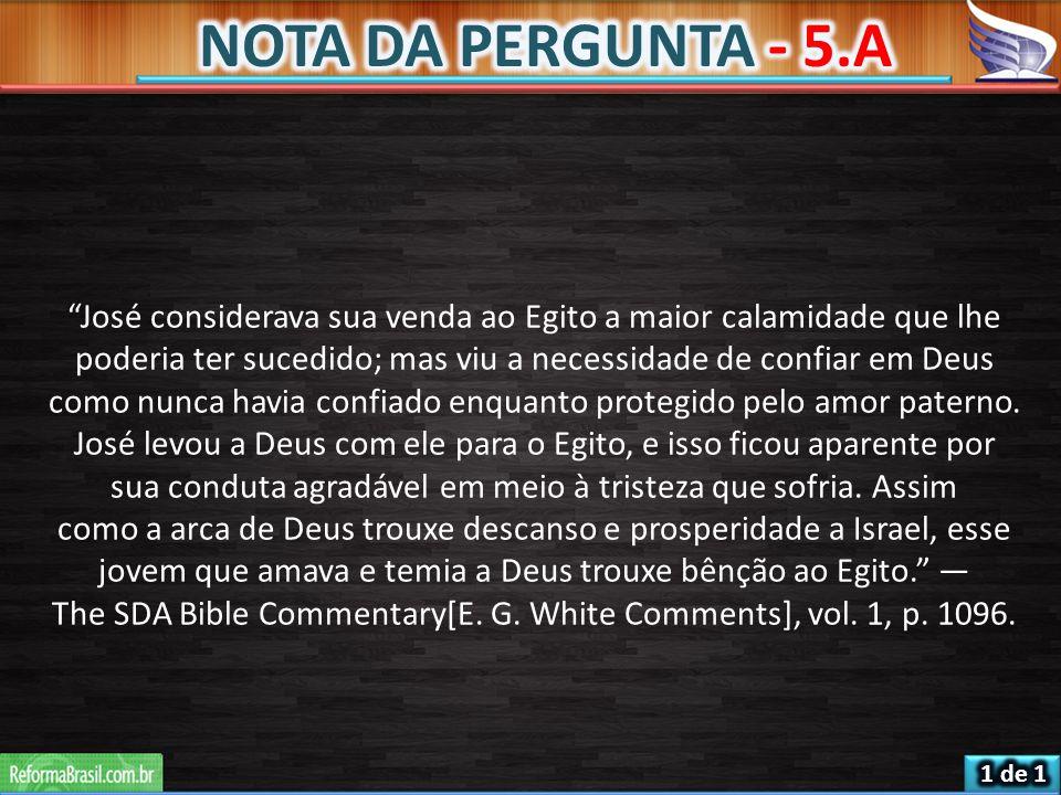 NOTA DA PERGUNTA - 5.A
