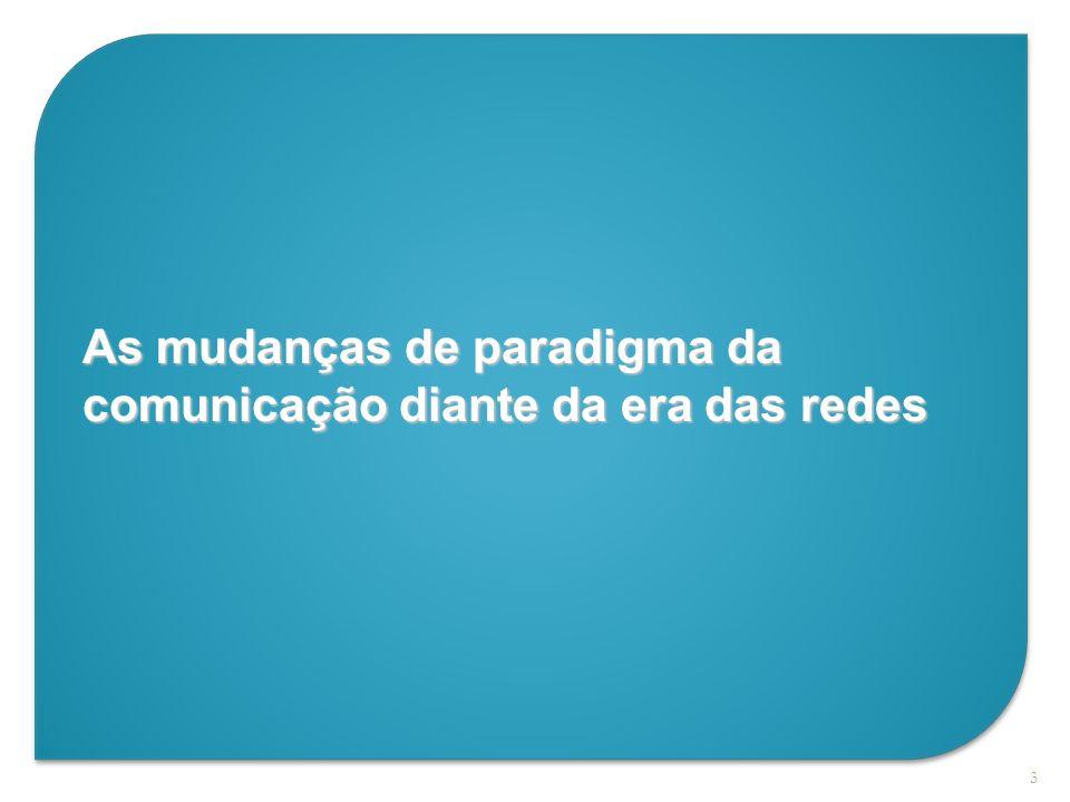 As mudanças de paradigma da comunicação diante da era das redes