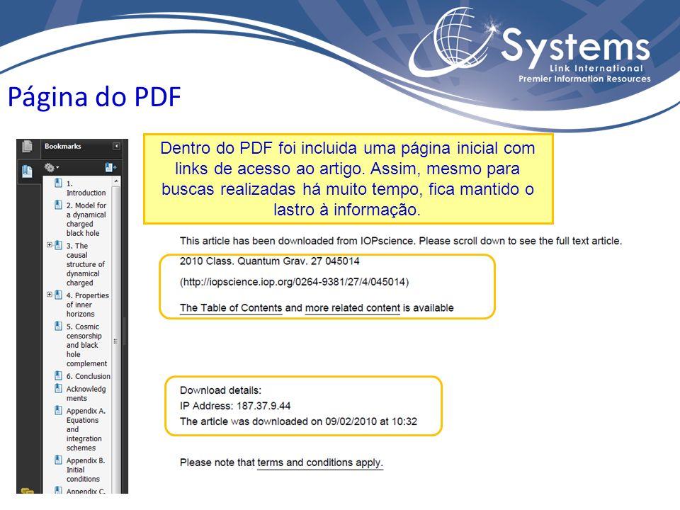 Página do PDF