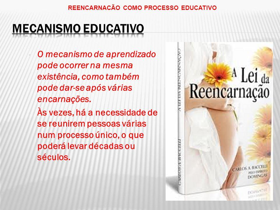 REENCARNACÃO COMO PROCESSO EDUCATIVO