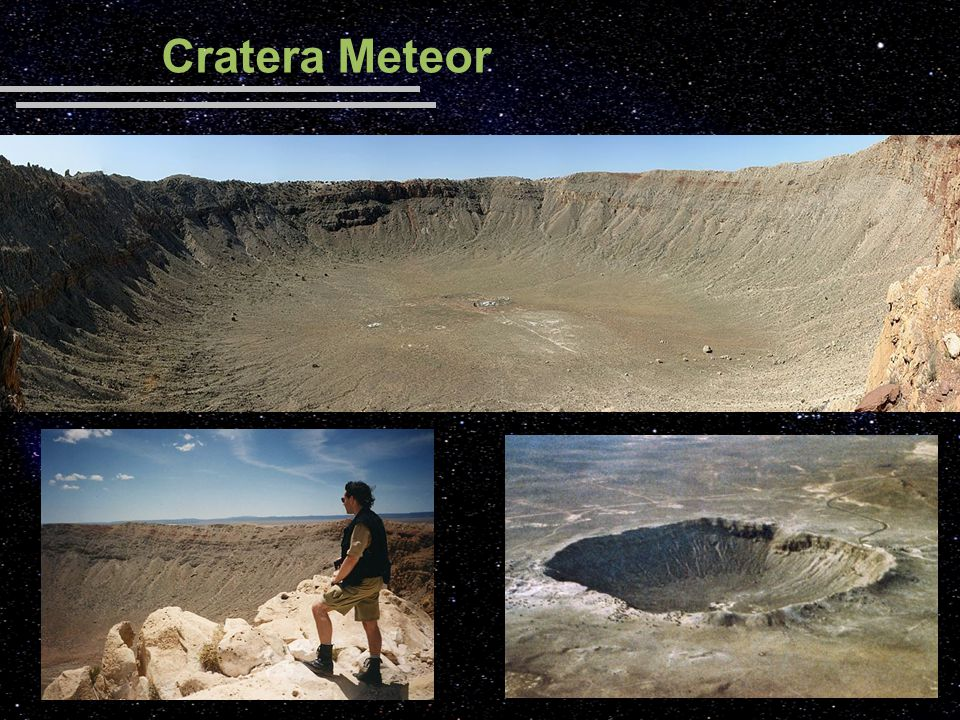 Cratera Meteor Imagens: <http://en.wikipedia.org/wiki/Meteor_Crater> acesso em 05/08/2008