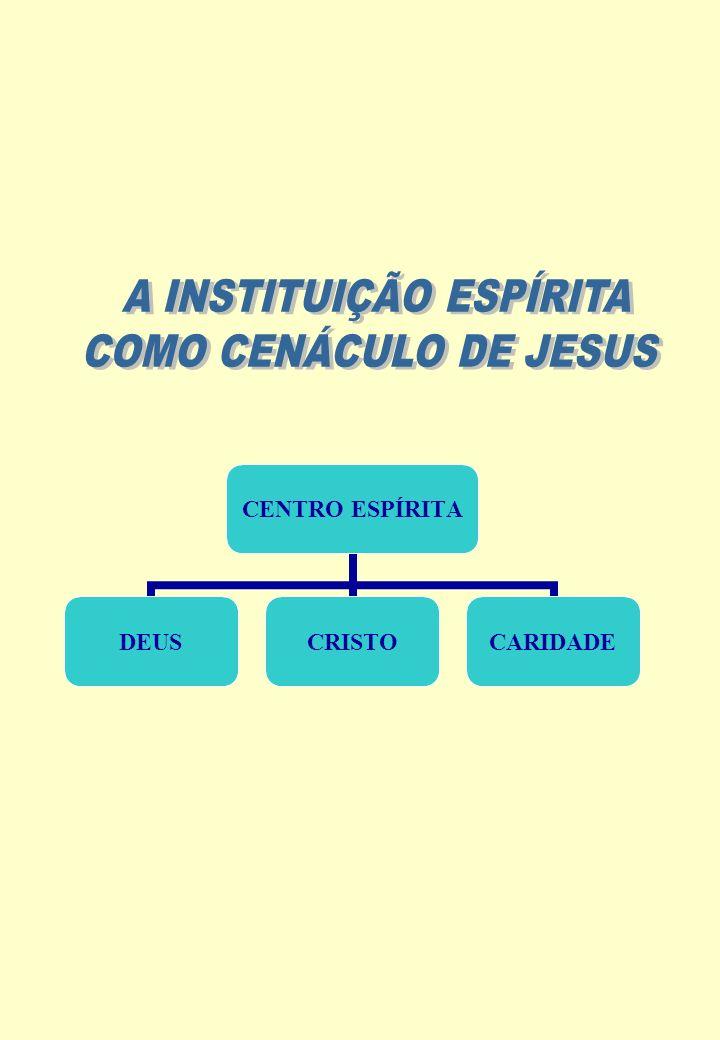 A INSTITUIÇÃO ESPÍRITA