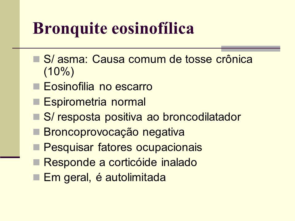 Bronquite eosinofílica