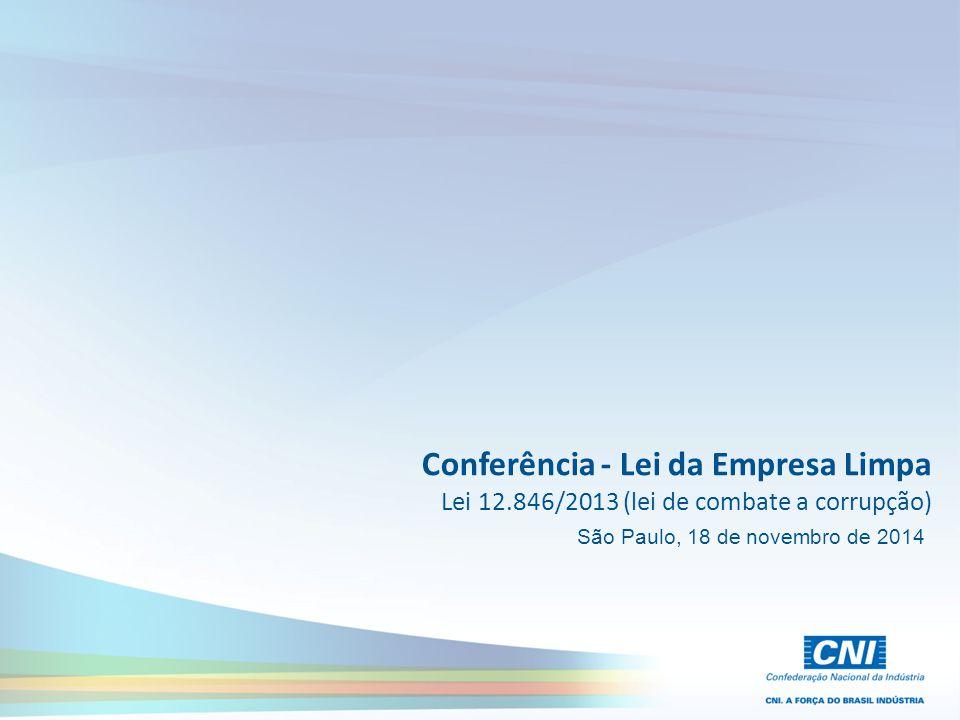 Conferência - Lei da Empresa Limpa