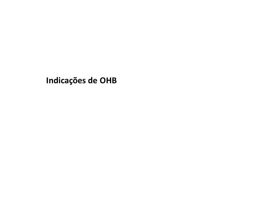 Indicações de OHB