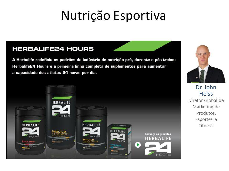 Diretor Global de Marketing de Produtos, Esportes e Fitness.
