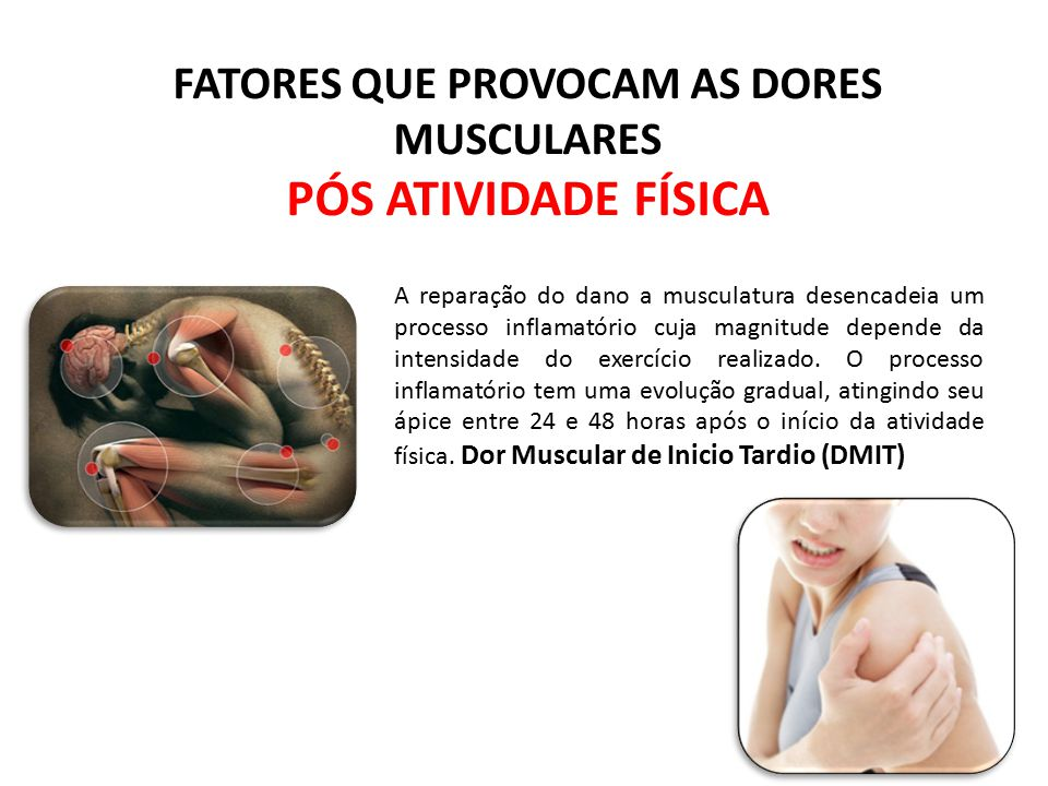 FATORES QUE PROVOCAM AS DORES MUSCULARES