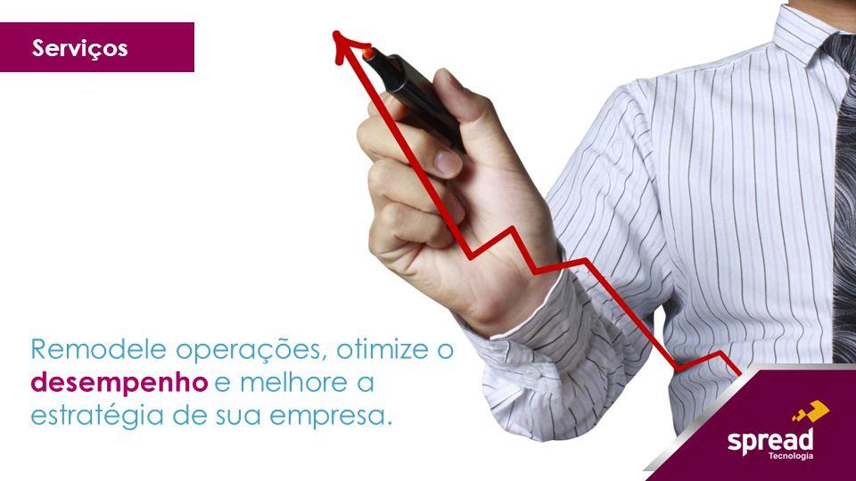 Serviços Remodele operações, otimize o desempenho e melhore a estratégia de sua empresa.