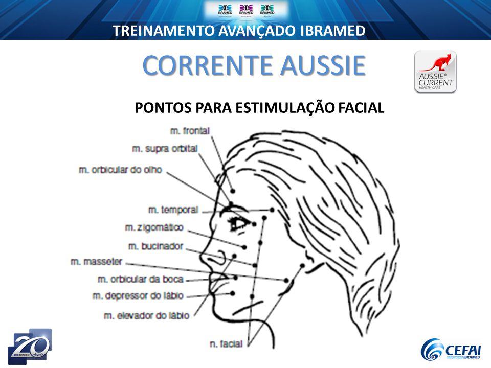 CORRENTE AUSSIE PONTOS PARA ESTIMULAÇÃO FACIAL