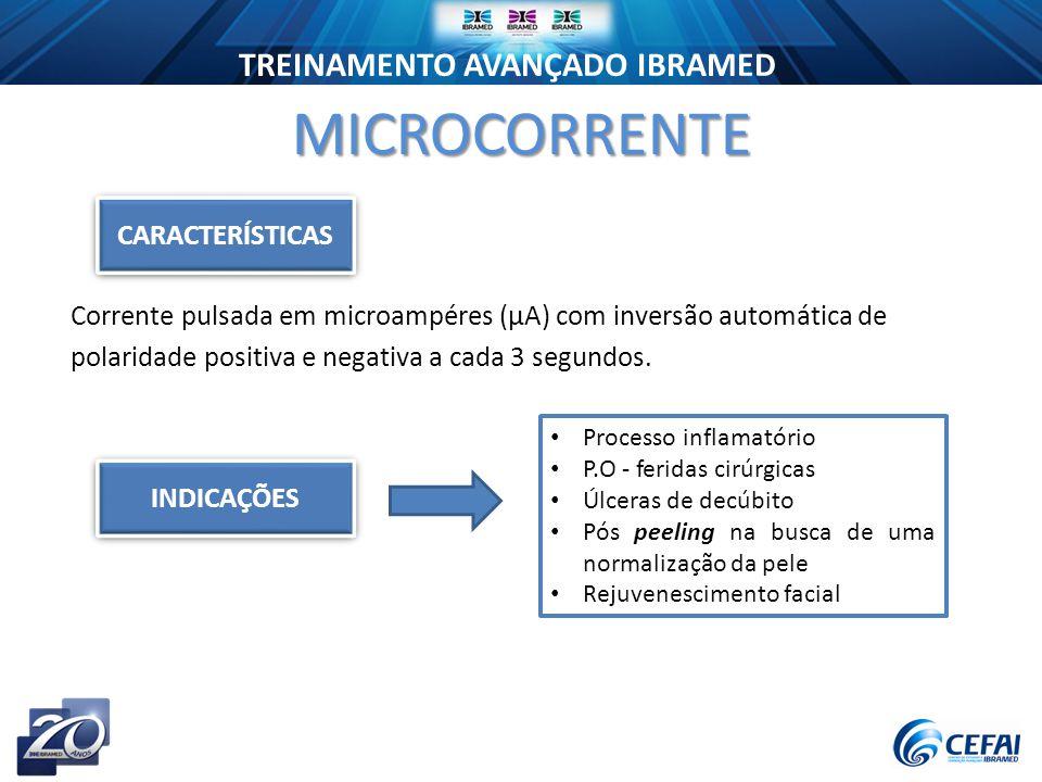 MICROCORRENTE CARACTERÍSTICAS