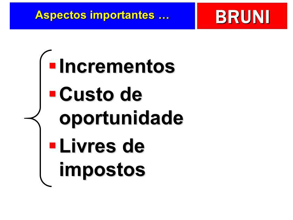 Aspectos importantes …