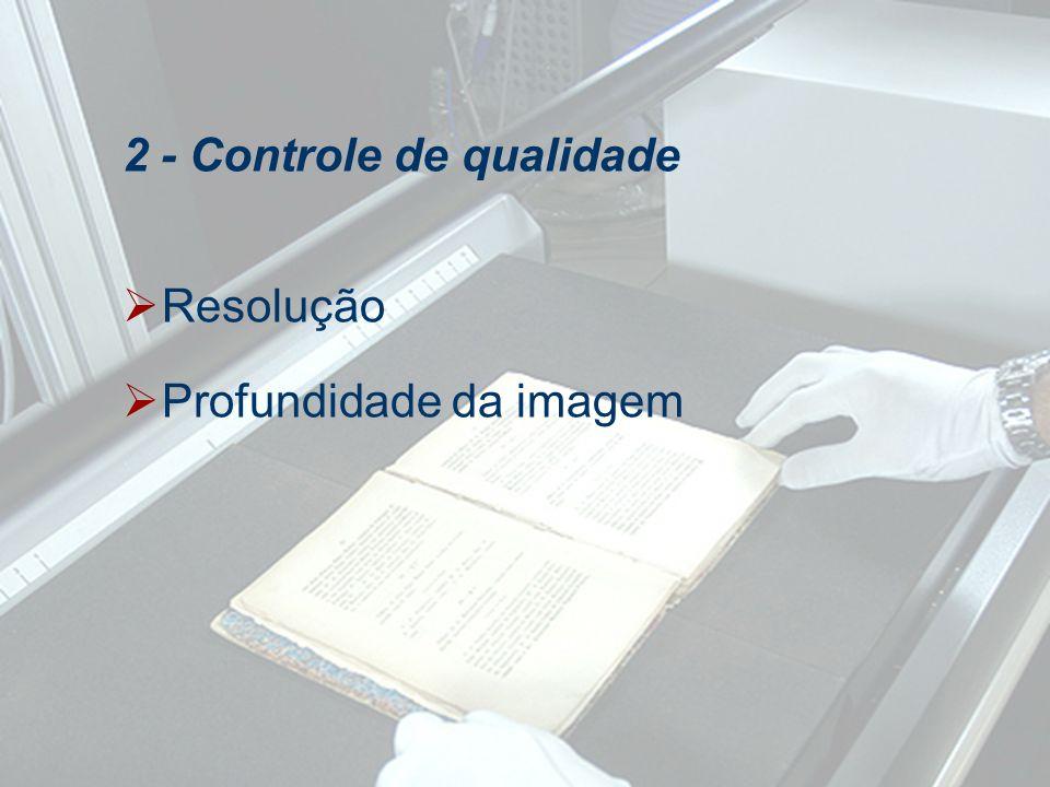 2 - Controle de qualidade