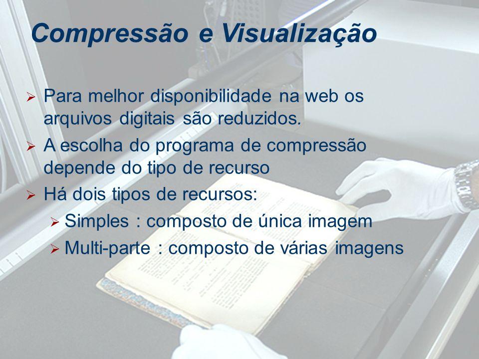 Compressão e Visualização