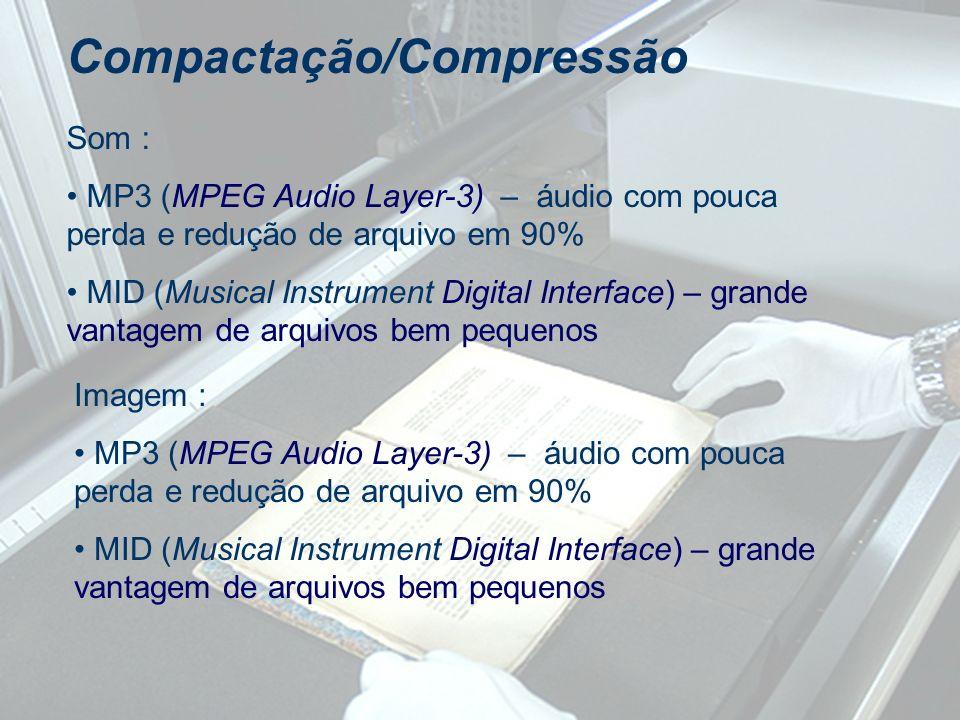Compactação/Compressão