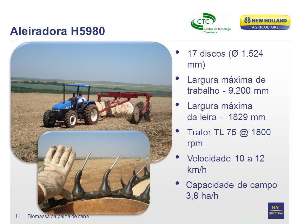 Aleiradora H5980 17 discos (Ø 1.524 mm)