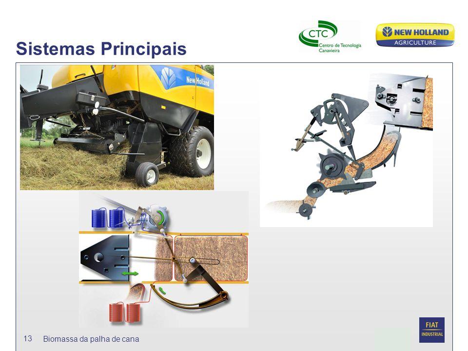 Sistemas Principais Biomassa da palha de cana